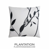 B&W Vines Pillow