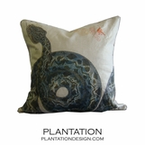 Slither Linen Pillow