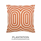 Endless Summer Pillow | Persimmon