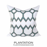 Orlando Linen Pillows | Blue