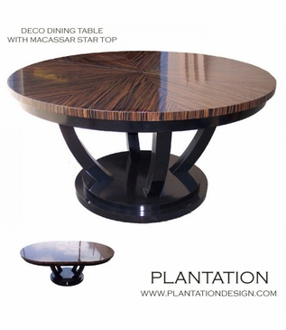 Deco Dining Table | Macassar