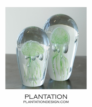 Jellies Glass Objects | Green
