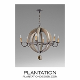 Etienne Wood Chandelier | No. 1
