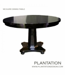 McGuire Round Dining Table