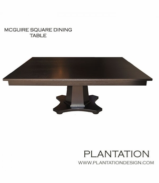 McGuire Square Dining Table