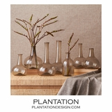 Recycled Vases Set | Grey