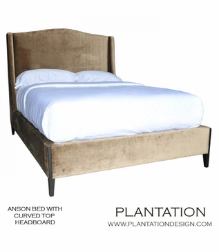 Anson Bed | Curved Headboard No. 1