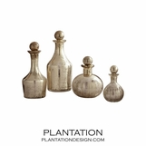 Paltrow Glass Bottles Set | Small