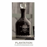 Skull & Crossbones Glass Decanter