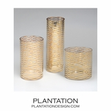 Double-Crossed Vases | Gold