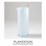 Bacchus Glass Pitcher | Pale Blue