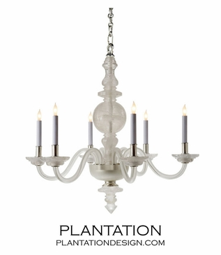 Maricella Medium Chandelier | Quartz