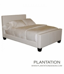 Plantation Classic Leather Bed | No. 2