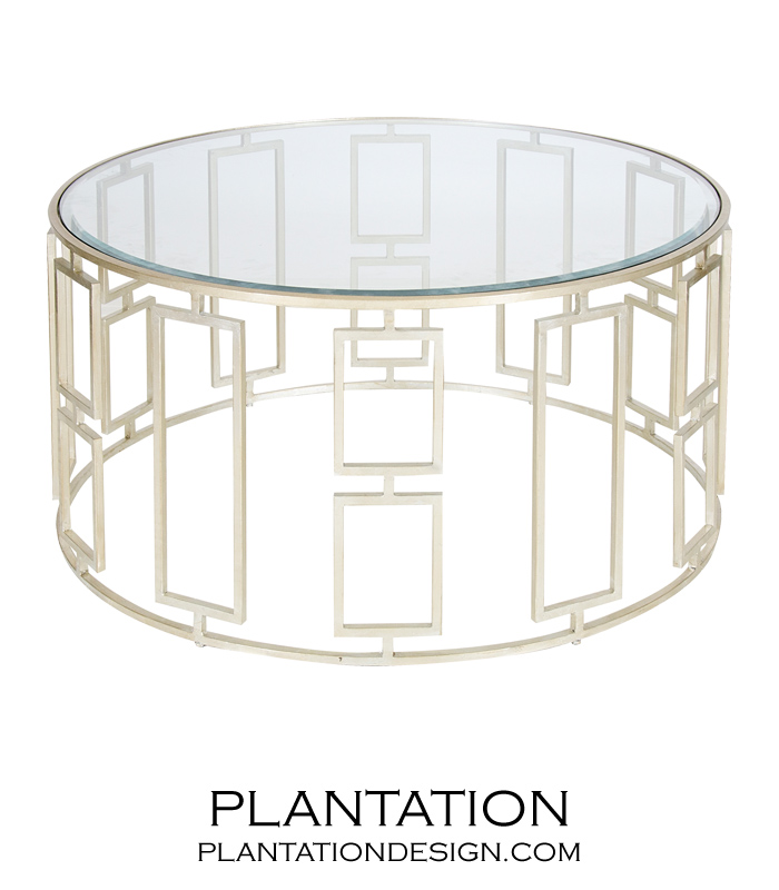 Kendall Coffee Table Silver PLANTATION - Kendall coffee table