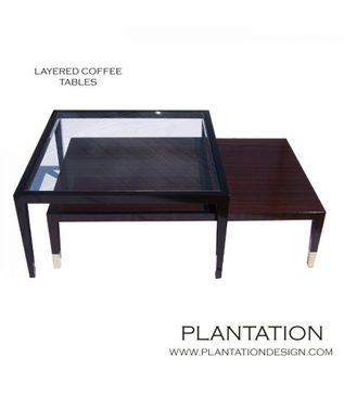 Liev Layered Coffee Tables
