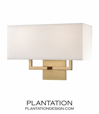 Kalan Double Sconce | Satin Gold