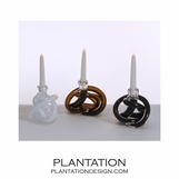 Tangled Knot Candlesticks