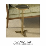 Marseilles Brass Table | Mirror