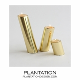 Pisa Votives Set | Brass