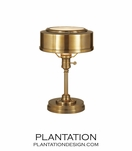 Kensington Task Lamp | Antique Brass
