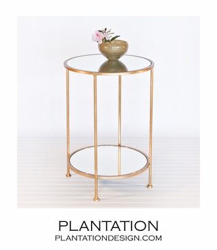 Rico Side Table | Gold