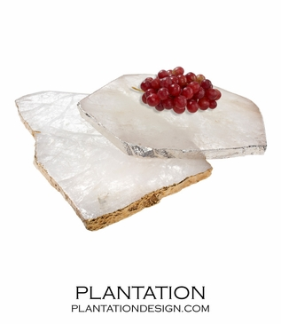 Stone Slab Trays | Crystal