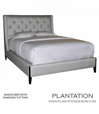 Anson Bed | Tufted