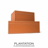 Kelly Leather Boxes