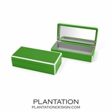 Lacquer Trinket Box | Kelly Green