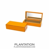 Lacquer Trinket Box | Orange