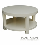 M Round Coffee Table, Painted