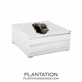 Belted Nickel Box | Large