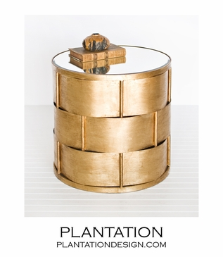 Yolo Side Table   Gold