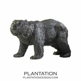 Grizzly Iron Sculpture