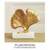 Biloba Sculpture | Gold