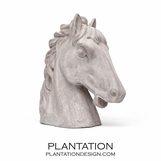 Thoroughbred Cement Statue