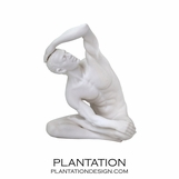 Stretching Male Statue No. 1 | Matte
