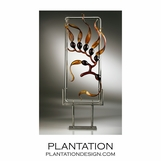Kelp Framed Sculpture | Amber