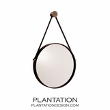 Voyager Mirror | Polished Nickel