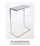 Gloucester Side Table | Nickel