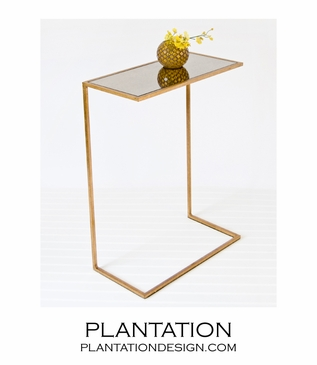 Gloucester Side Table | Gold