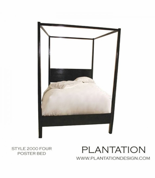 """Four-poster Bed   Style """"2000"""""""