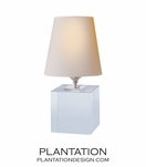 Sherri Crystal Table Lamp | Square