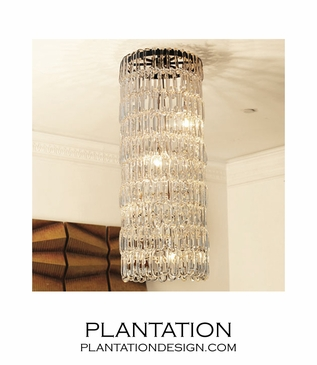 Larissa Glass Chandelier