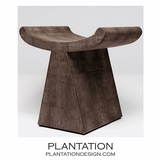 "Lanai ""Shagreen"" Stool 