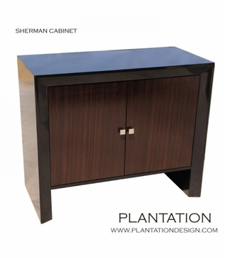 Sherman Cabinet, Stained