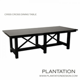Criss Cross Dining Table