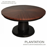 Dylan Dining Table, Rosewood