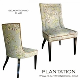 Belmont Dining Side Chair, Nailhead