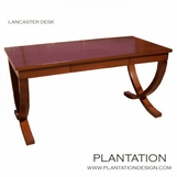 Lancaster Desk | Stained